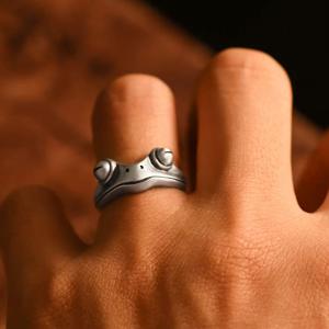 Vintage Frog Ring
